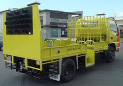 Traffic management truck bodies from Boss Motorbodies